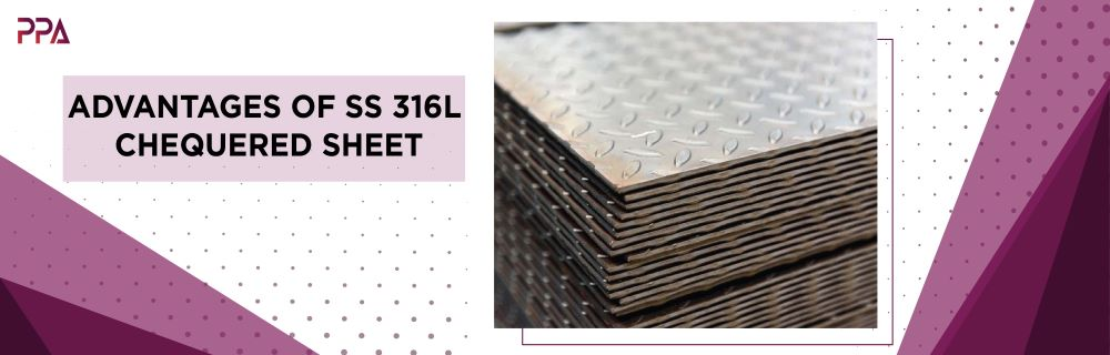 SS 316L Chequered Sheet