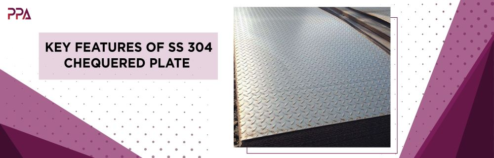 SS 304 Chequered Plate